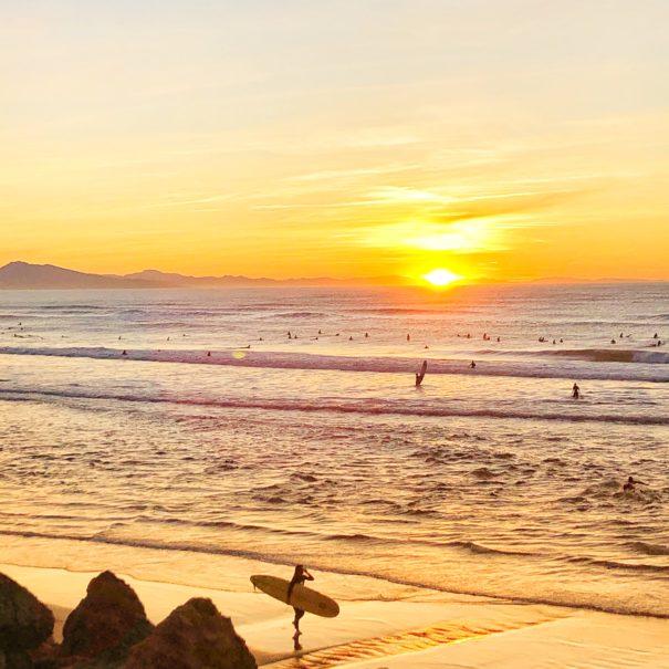 70's Sunset Roadtrip - soirée originale Pays Basque txiki combi