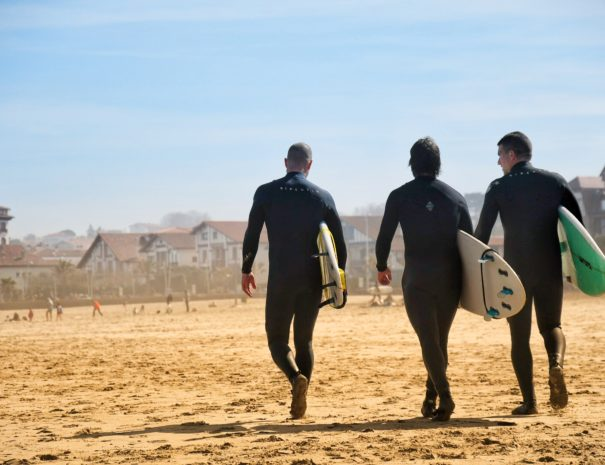 Surf Tour et guide au pays basque - txiki combi