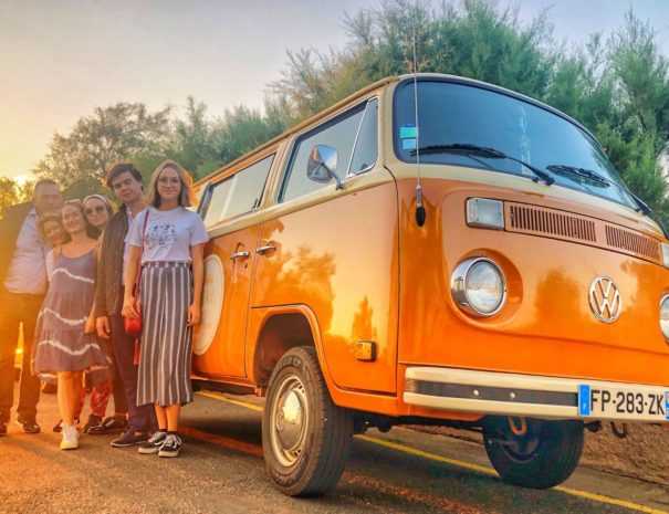 Sunset Tour en Combi VW Pays Basque