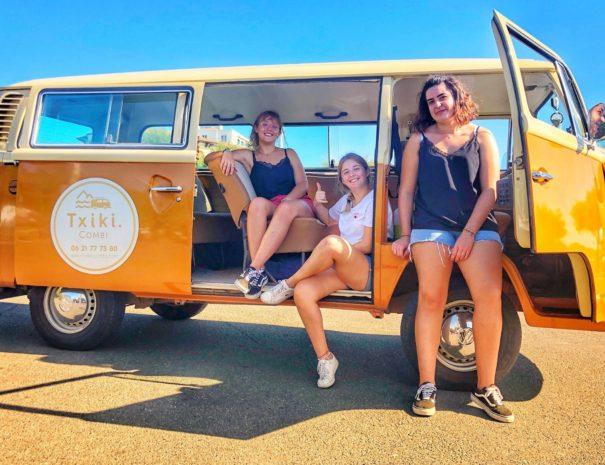 BAB A cool tour- Visite du pays basque en Combi VW
