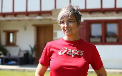 Sylvie, ferme URONAKOBORDA découverte du jambon kintoa et piment d'espelette