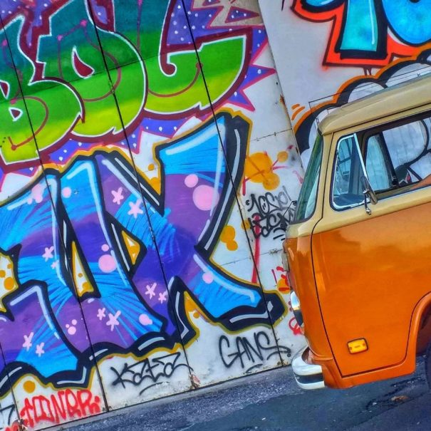 Visite Street Art Biarritz Anglet |Txiki Combi