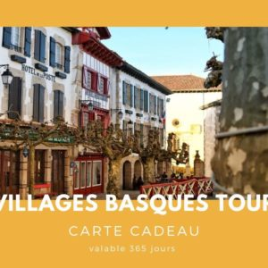 Carte cadeau txiki combi - village basque tour