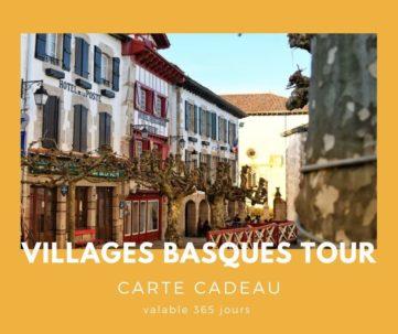 Carte cadeau txiki combi - village basque tour