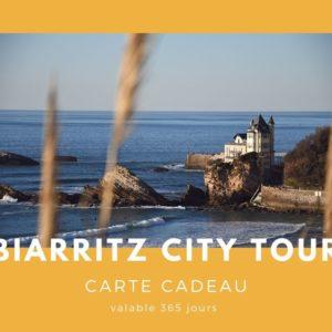 Carte cadeau txiki combi - Biarritz city tour