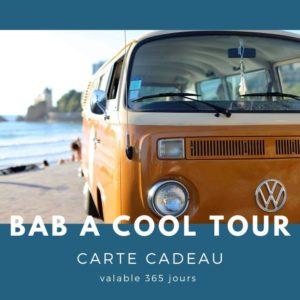 Carte cadeau txiki combi - BAB A cool tour