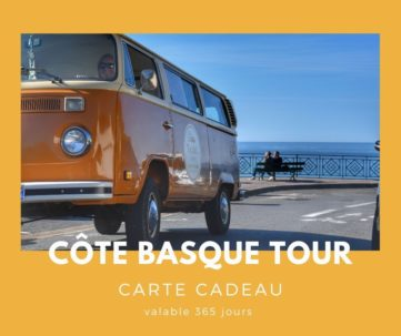 Carte cadeau txiki combi - Côte basque tour