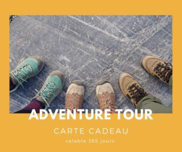 Carte cadeau txiki combi - adventure tour
