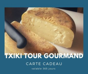Carte cadeau txiki combi - txiki tour gourmand