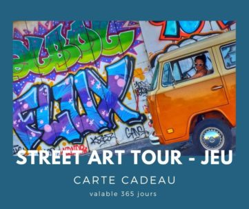 Street Art Tour - Carte Cadeau | Txiki Combi