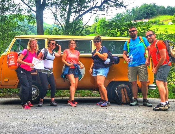 Weekend aventure Pays Basque   Txiki Combi visite originale pays basque